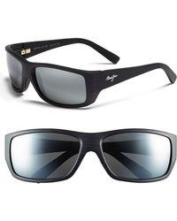 Maui Jim 'wassup - Polarizedplus2' 61mm Polarized Sunglasses - Black