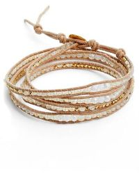 Chan Luu - Mystic Clear Quartz Mix Wrap Bracelet - Lyst