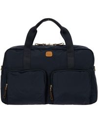Bric's X-bag 18-inch Boarding Duffle Bag - Blue