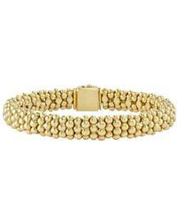 Lagos   'caviar Gold' Rope Bracelet   Lyst