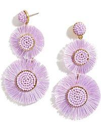 BaubleBar - Mariette Fringe Earrings - Lyst