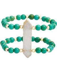 Elise M Candice Double Stretch Bracelet - Multicolor