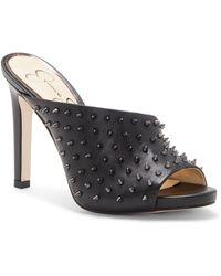 Jessica Simpson Ryanne 2 Slide Sandal - Black