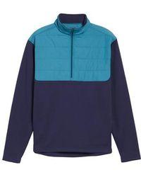Peter Millar - Sheffield Hybrid Half Zip Pullover - Lyst