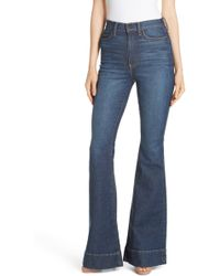 AO.LA by alice + olivia - Ao. La Beautiful High Waist Bell Bottom Jeans - Lyst