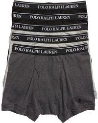 Polo Ralph Lauren - 5-pack Cotton Boxer Briefs - Lyst