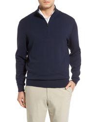 Cutter & Buck Lakemont Half Zip Sweater - Blue