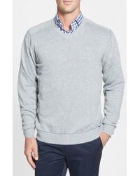 Cutter & Buck - 'broadview' V-neck Sweater - Lyst