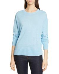 Nordstrom Linen Blend Sweater - Blue