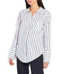 Ayr - The Great Hope Stripe Shirt - Lyst