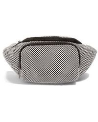 TOPSHOP - Diana Diamante Chainmail Bum Bag - Metallic - Lyst