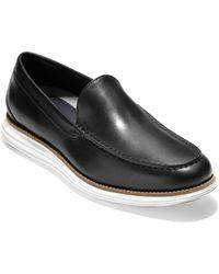Cole Haan Original Grand Venetian Loafers - Black
