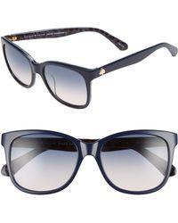 Kate Spade - Danalyns 54mm Sunglasses - Lyst