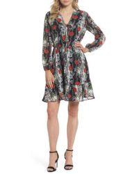 Fraiche By J   Lidia Tie Front Dress   Lyst