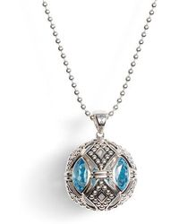 Lagos - Signature Gifts Marquee Ball Pendant Necklace - Lyst