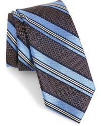 Nordstrom - Christophe Stripe Silk Tie - Lyst