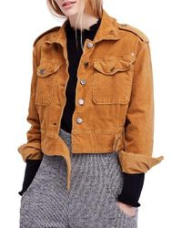 Free People - Everlyn Jacket - Lyst