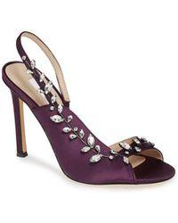 Nina - Deanna Embellished Sandal - Lyst
