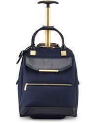 Ted Baker Metallic Trim Travel Bag - Blue