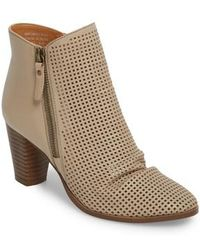 MIA - Riya Perforated Bootie - Lyst