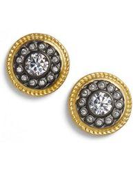 Freida Rothman - 'nautical Button' Stud Earrings - Lyst