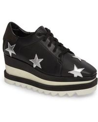 Stella McCartney - Elyse Platform Sneaker - Lyst