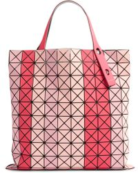 Lyst - Bao Bao Issey Miyake Light Pink Prism Frost Tote d0eae018e3833