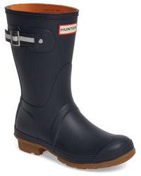 Hunter   Original Sissinghurst Short Rain Boot   Lyst