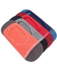 Hook + Albert - 4-pack Liner Socks - Lyst