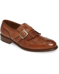 Johnston & Murphy J&m 1850 Bryson Kiltie Loafer - Brown