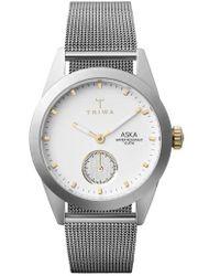 Triwa - Snow Aska Mesh Strap Watch - Lyst