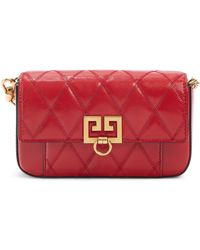 Givenchy Mini Pocket Quilted Convertible Leather Bag - Multicolour