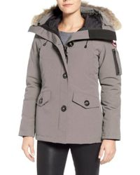 Canada Goose - Montebello Slim Fit Down Parka With Genuine Coyote Fur Trim - Lyst