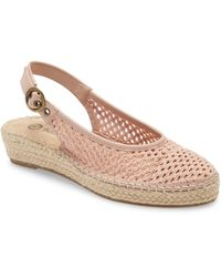 Bella Vita Olive Ii Slingback Platform Sandal - Pink