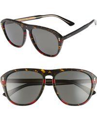 377c05326df Gucci - 56mm Sunglasses - - Lyst