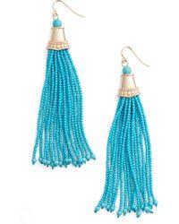 Adia Kibur - Beaded Tassel Earrings - Lyst