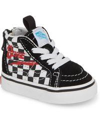 688a040669e6c7 Vans - X David Bowie Sk8-hi Zip Sneaker - Lyst