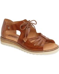 d84cfd8dcf2e Lyst - Pikolinos  alcudia  Leather Sandal in Blue