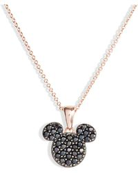 Disney - Mickey Pendant Necklace - Lyst