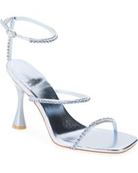 Jeffrey Campbell Demonic Ankle Strap Sandal - Blue