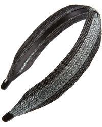 Cara - Sparkle Knot Headband - Lyst