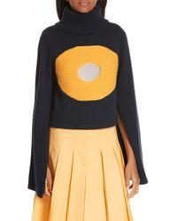 Ji Oh Crop Turtleneck Sweater