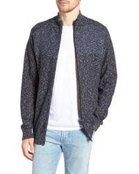 Rodd & Gunn - Banks Road Colorblocked Zip Sweater - Lyst