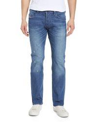 DIESEL Diesel Safado Slim Straight Leg Jeans - Blue