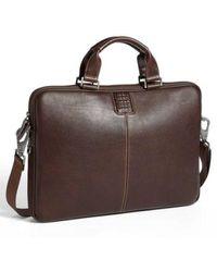 Boconi - 'tyler' Leather Laptop Briefcase - - Lyst