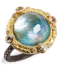 Armenta - Old World Opal & Diamond Ring - Lyst