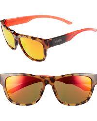 d390341083 Smith - Ember 52mm Chromapop(tm) Sunglasses - Havana Rise - Lyst