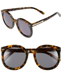 f0798d39d5 Lyst - Karen Walker Super Duper Strength Sunglasses Crazy Tort