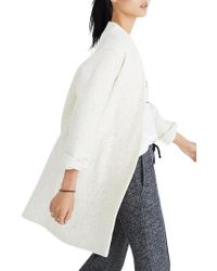 Madewell - Langley Swing Coat - Lyst