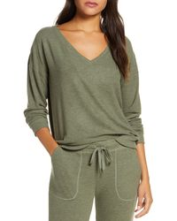 Pj Salvage Peachy In Color Top - Green